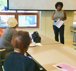 WOC with Cancer & Survivors October Workshop Pics - Next Meeting November 18th Featuring Jacquie Wilson, LMHC