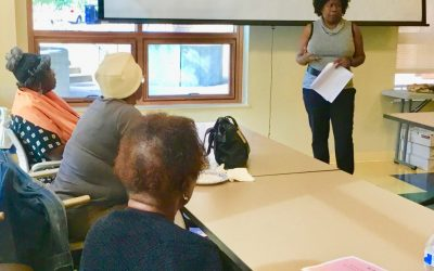 WOC with Cancer & Survivors October Workshop Pics – Next Meeting November 18th Featuring Jacquie Wilson, LMHC